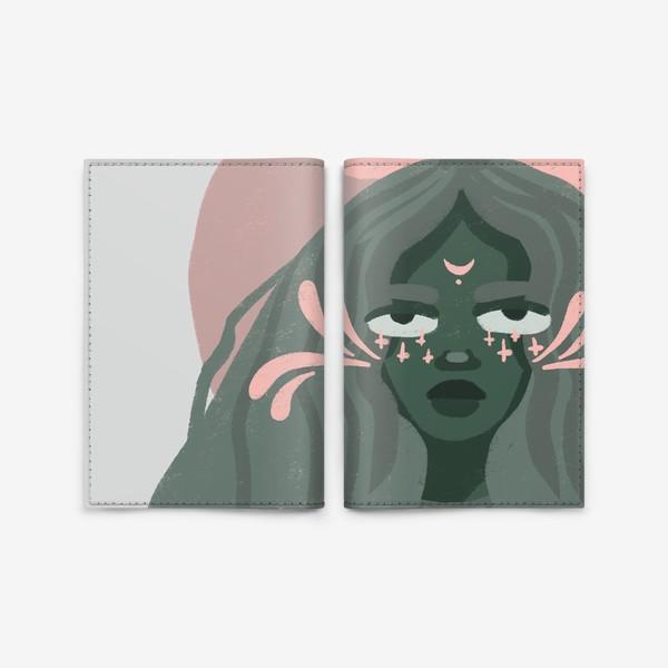 Обложка для паспорта «Мадам»