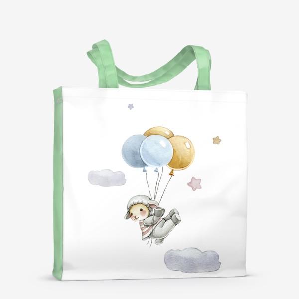 Сумка-шоппер «Воздушные шарики»