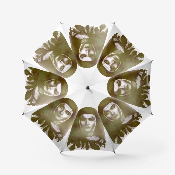 Зонт «Молодая монахиня. Ретро»