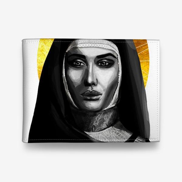 Кошелек «Молодая монахиня. Золото»