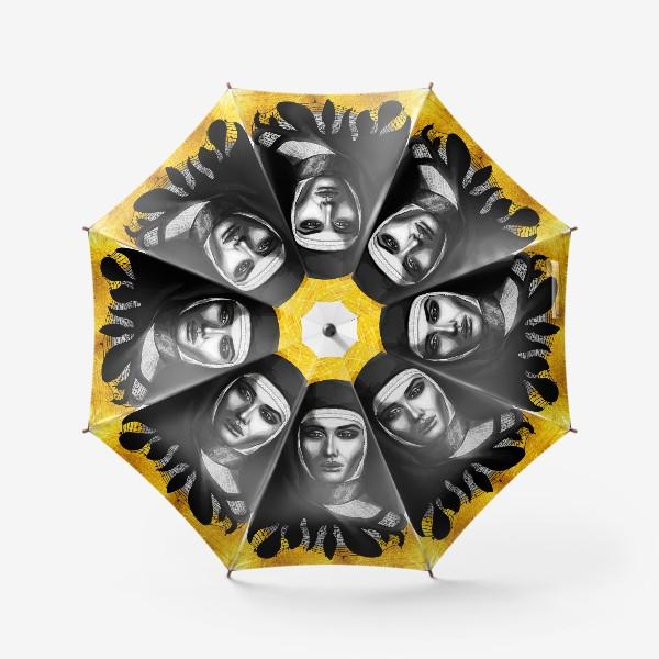 Зонт «Молодая монахиня. Золото»