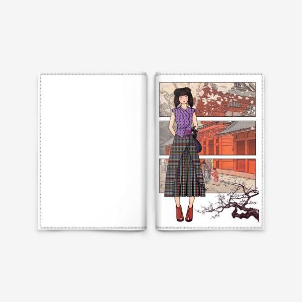 Обложка для паспорта «Япония_2»