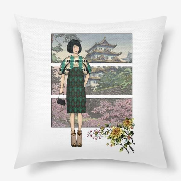 Подушка «Япония_4»