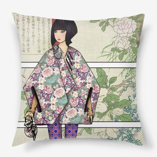 Подушка «Япония_5»