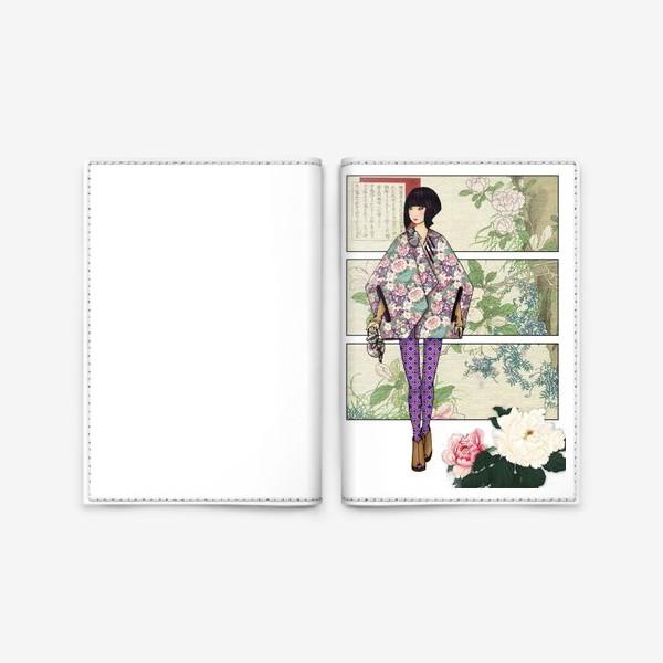 Обложка для паспорта «Япония_5»