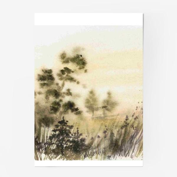 Постер «Осень в тумане»