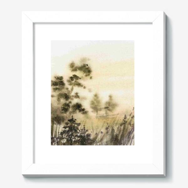 Картина «Осень в тумане»