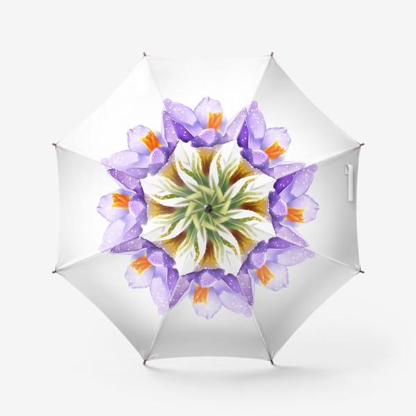 Зонт «маленький цветок»