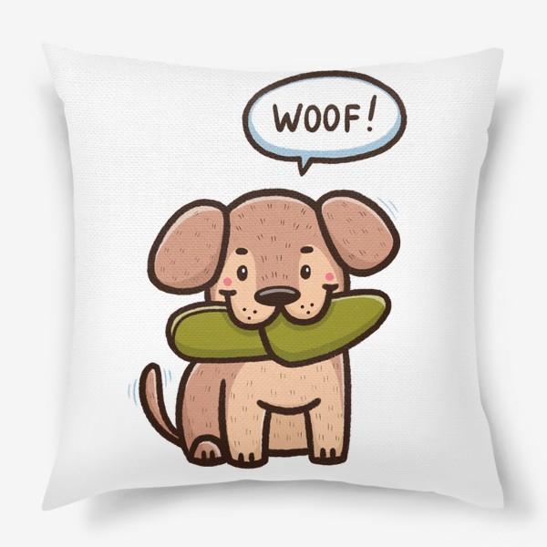 Подушка «Милый щенок»