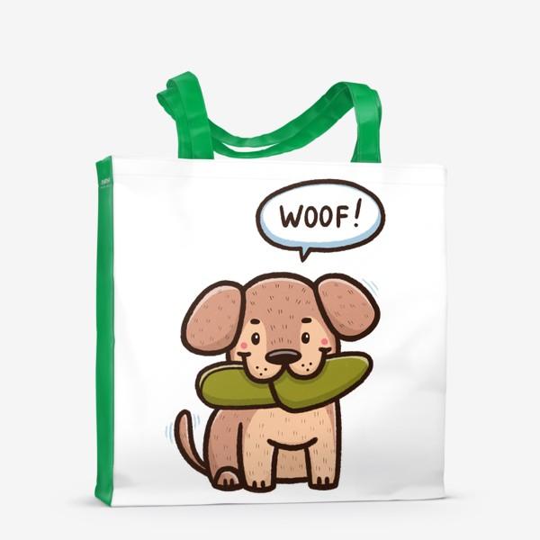 Сумка-шоппер «Милый щенок»
