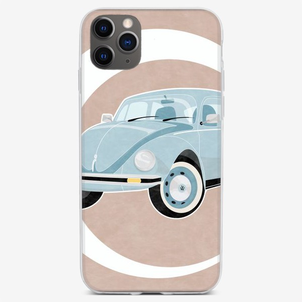 Чехол iPhone «Машина в ретро стиле»