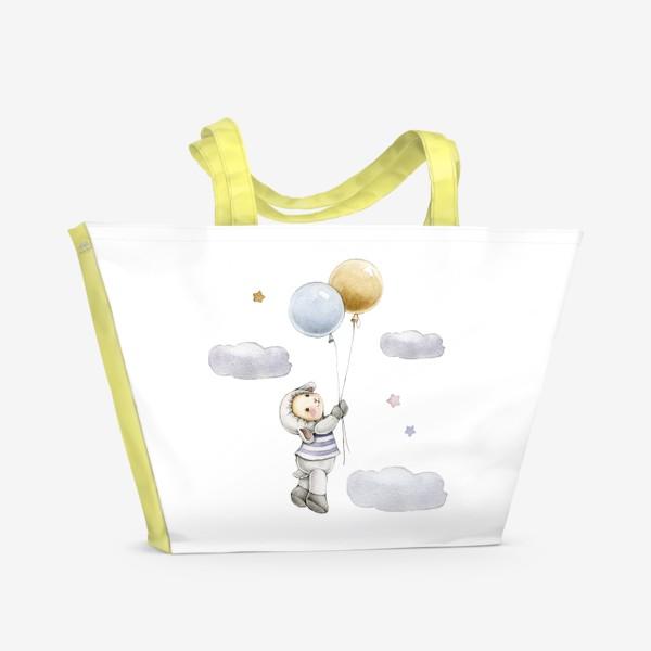 Пляжная сумка «Овечка  в облаках»