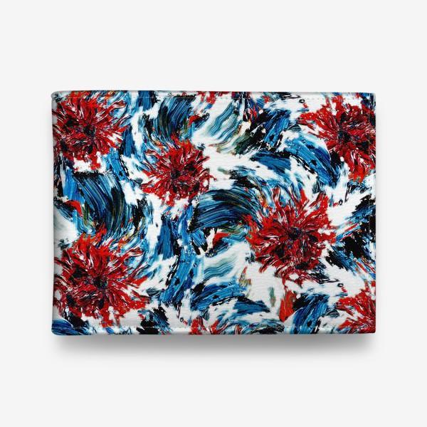 Кошелек «сине-голубые цветы. ирисы»