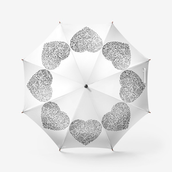 Зонт «Праздничное сердце»