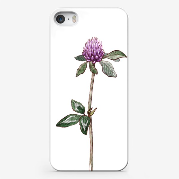 Чехол iPhone «Цветок клевера»