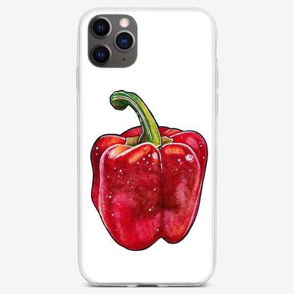 Чехол iPhone «Сочный красный перец»