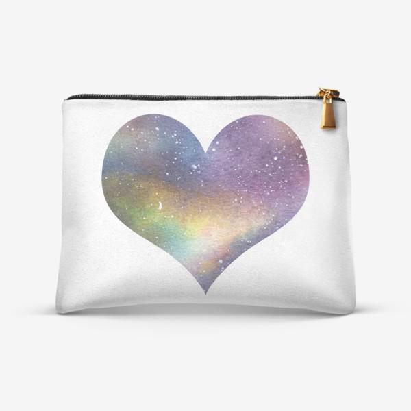 Косметичка «Космическое сердце 1»