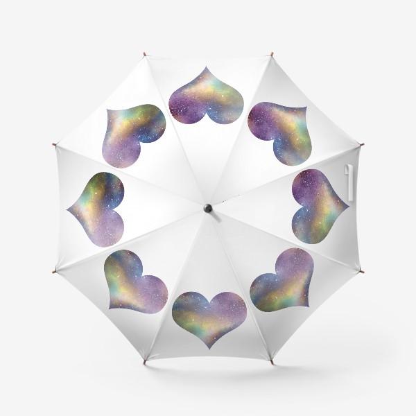 Зонт «Космическое сердце 1»