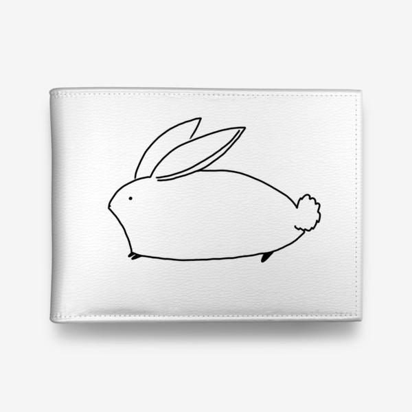 Кошелек «Белый милый кролик»