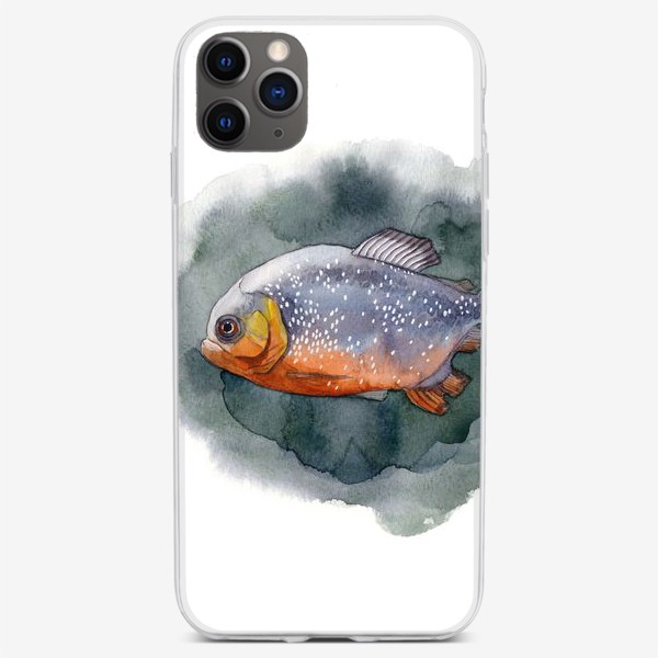 Чехол iPhone «Пиранья»