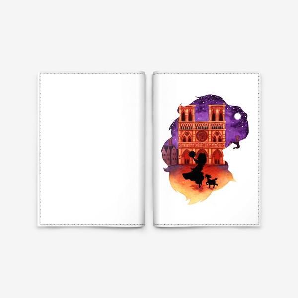 Обложка для паспорта «Девушка Эсмеральда»