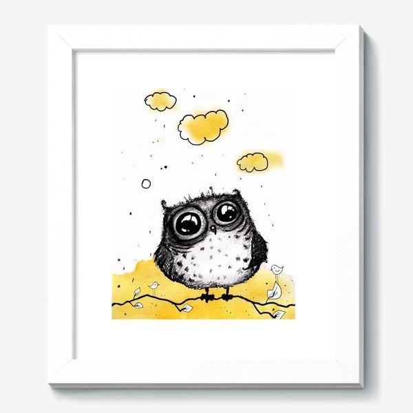 Картина «Кофейная сова»