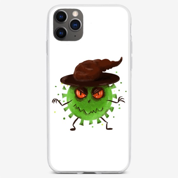 Чехол iPhone «хитрый вирус »