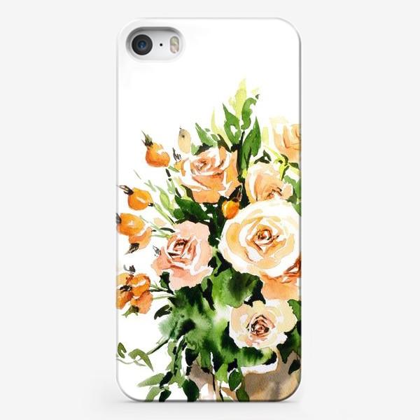 Чехол iPhone «Чайные розы»