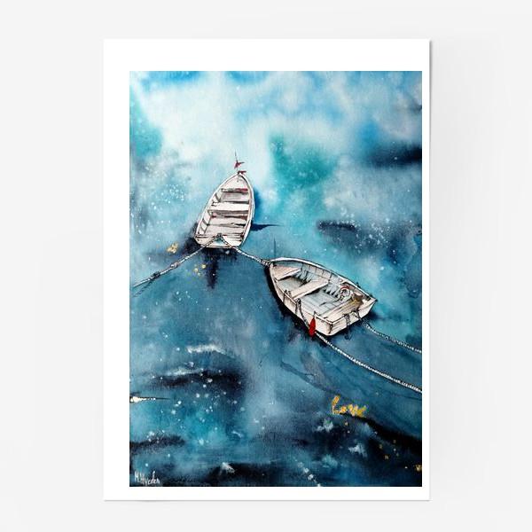Постер «Лодки»