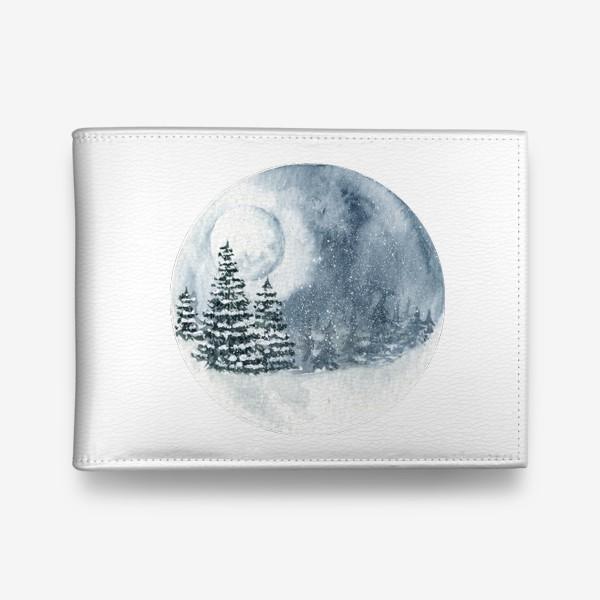 Кошелек «Зимний пейзаж»