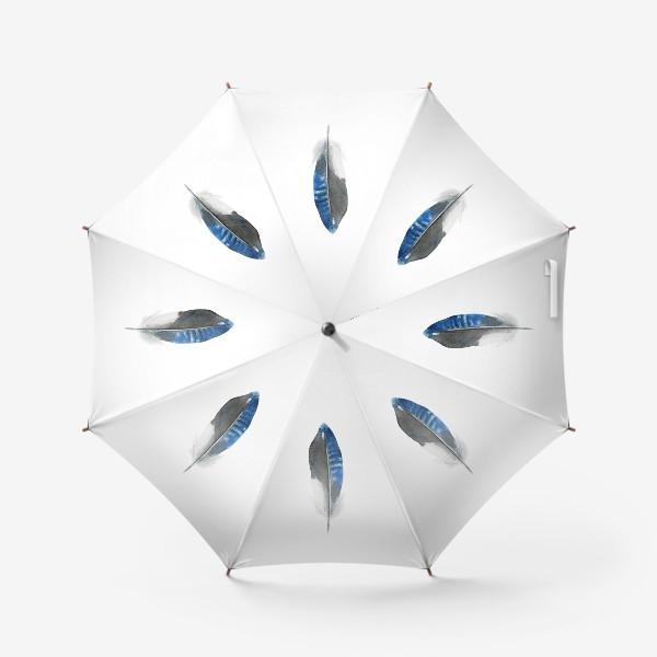 Зонт «Синее перо»