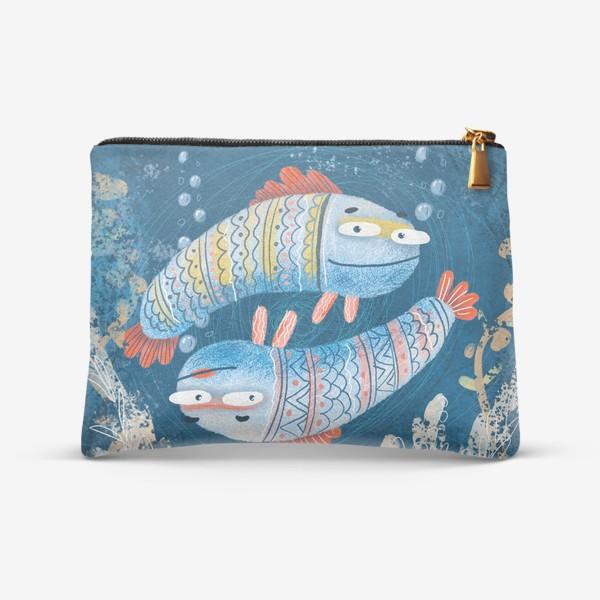 Косметичка «Рыбы близнецы»