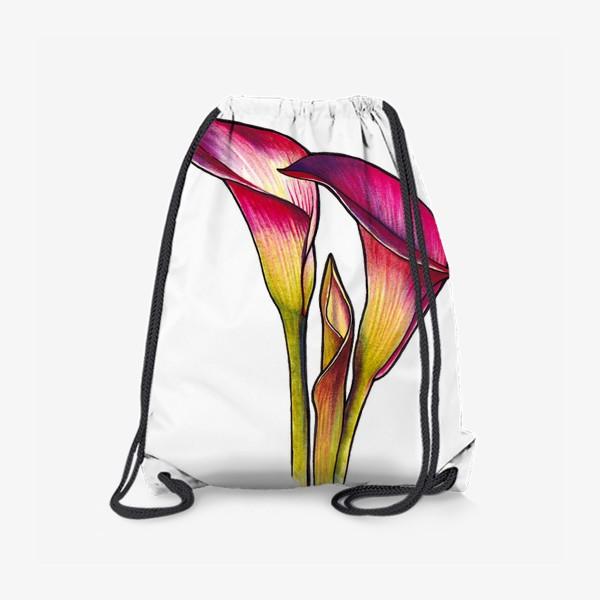 Рюкзак «Розовые каллы»