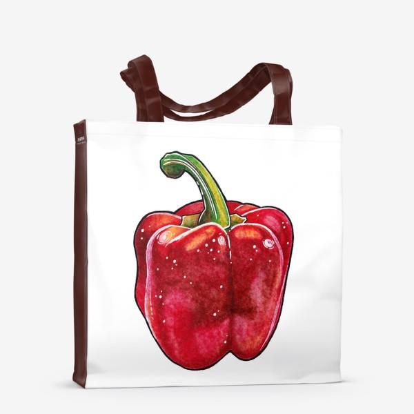 Сумка-шоппер «Сочный красный перец»