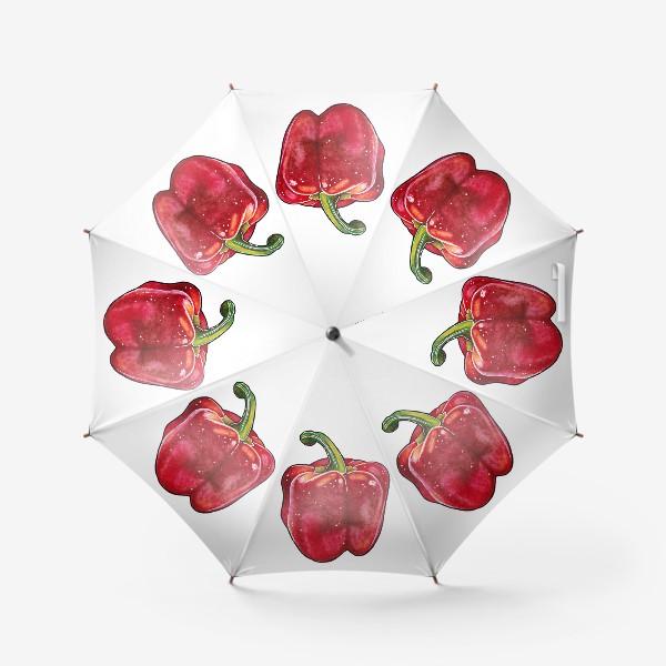 Зонт «Сочный красный перец»