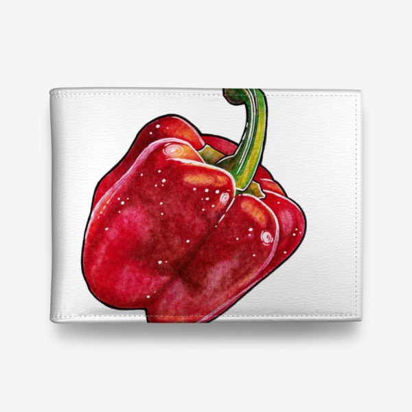 Кошелек «Сочный красный перец»