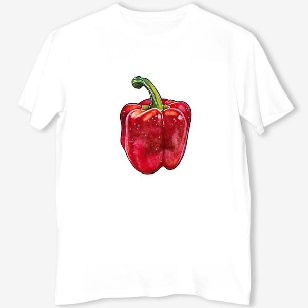 Футболка «Сочный красный перец»