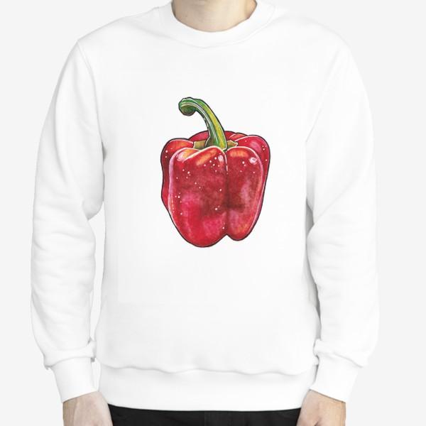 Свитшот «Сочный красный перец»