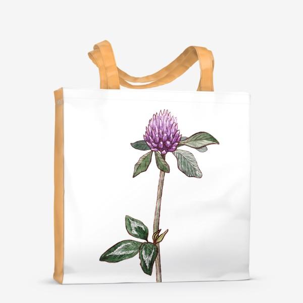 Сумка-шоппер «Цветок клевера»