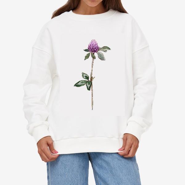 Свитшот «Цветок клевера»