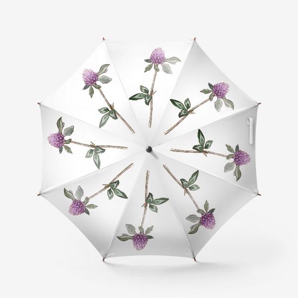 Зонт «Цветок клевера»