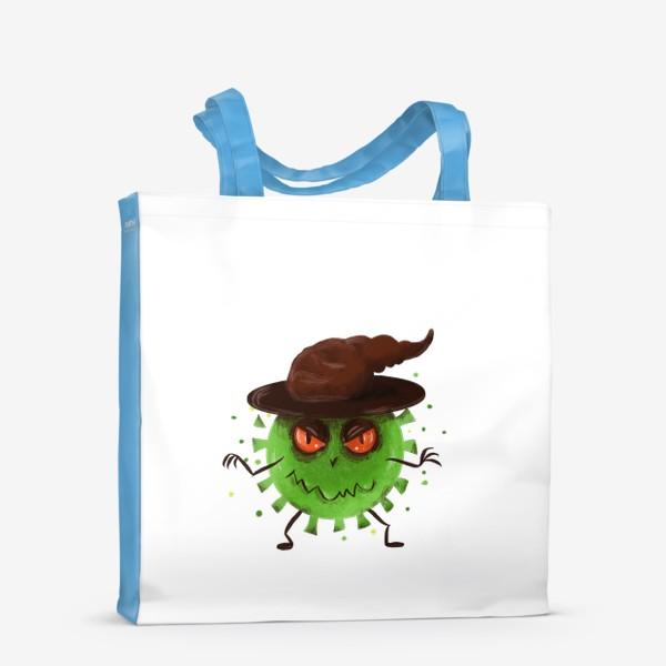 Сумка-шоппер «хитрый вирус »