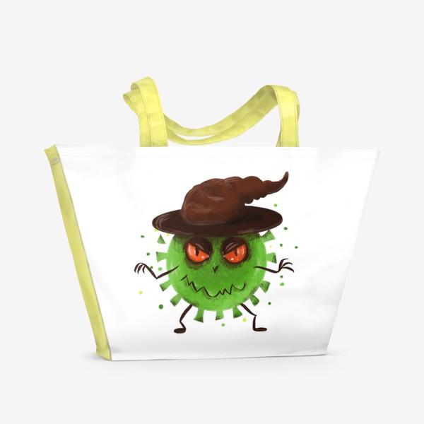 Пляжная сумка «хитрый вирус »