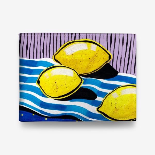 Кошелек «Желтые лимоны»