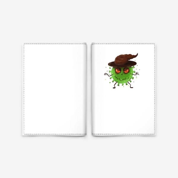 Обложка для паспорта «хитрый вирус »