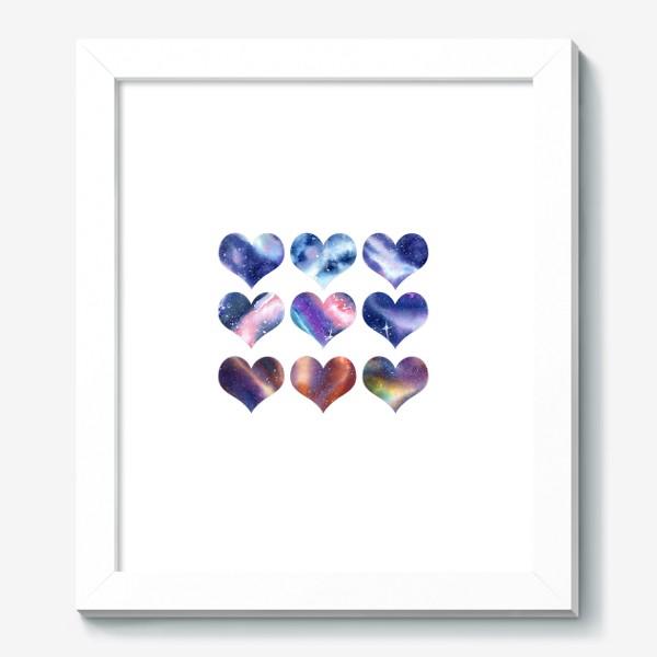 Картина «Космические сердца 2»
