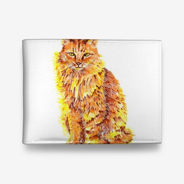 Кошелек «Пушистый рыжий кот»