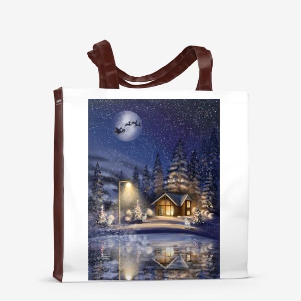 Сумка-шоппер «В ночь под Рождество »