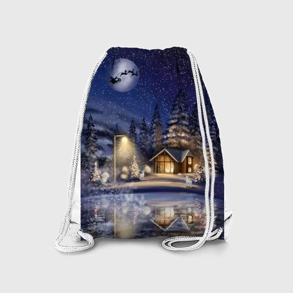 Рюкзак «В ночь под Рождество »