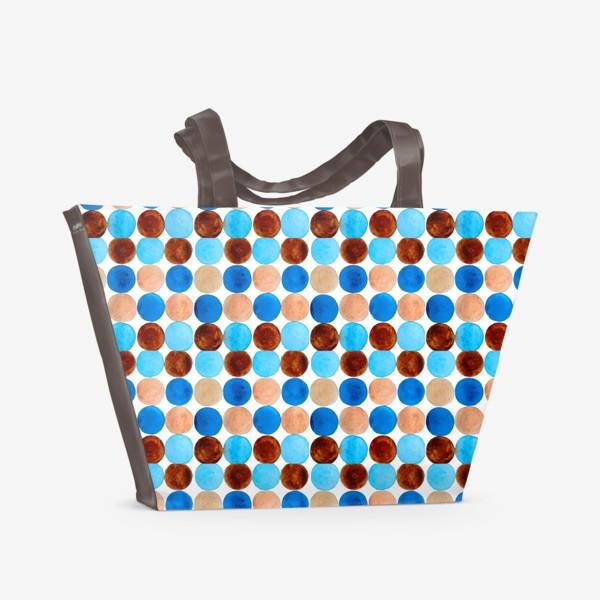 Пляжная сумка «Dots pattern»